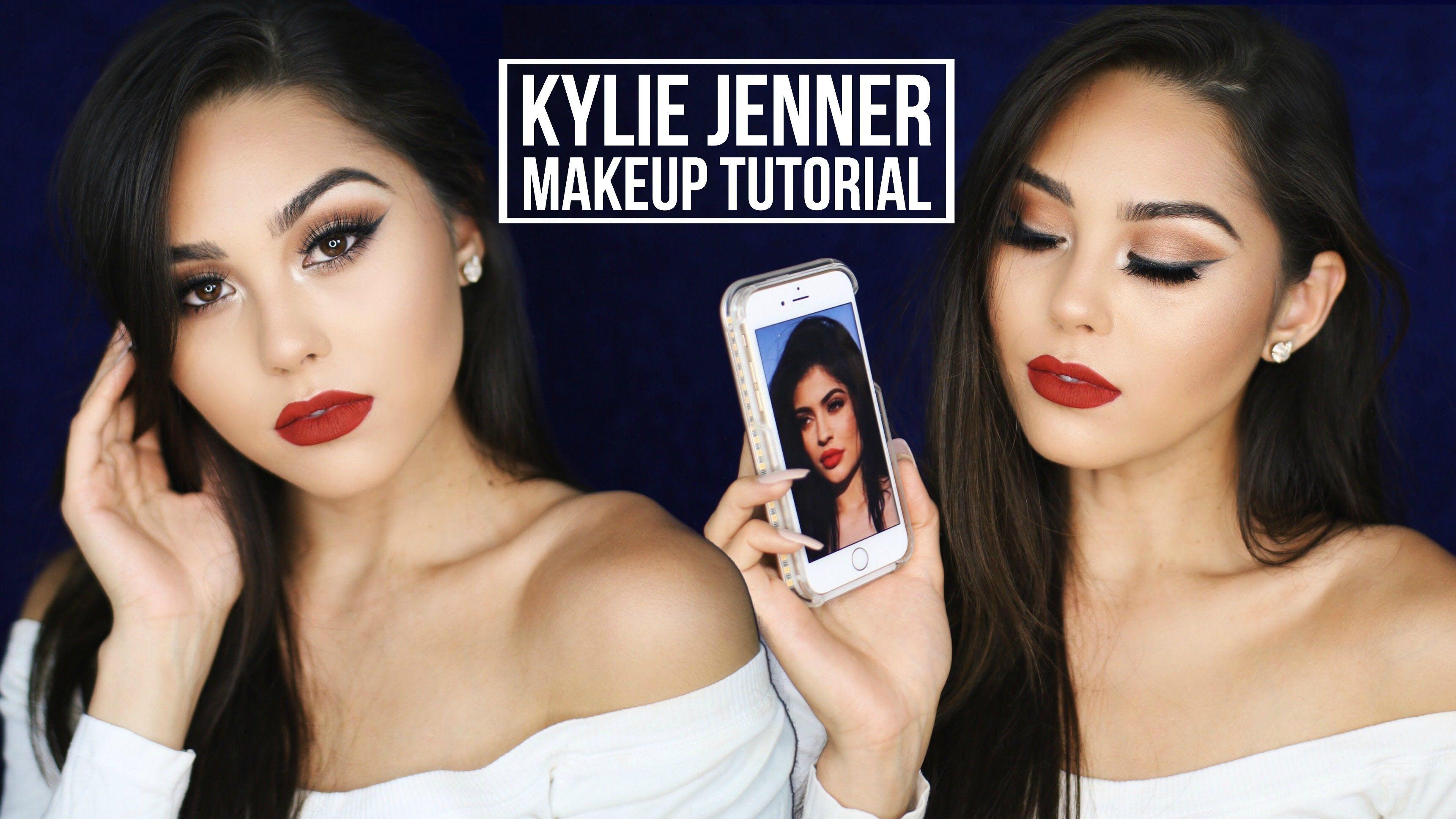 Kylie Jenner Inspired Fall Makeup Tutorial 2016 | Bronze ...