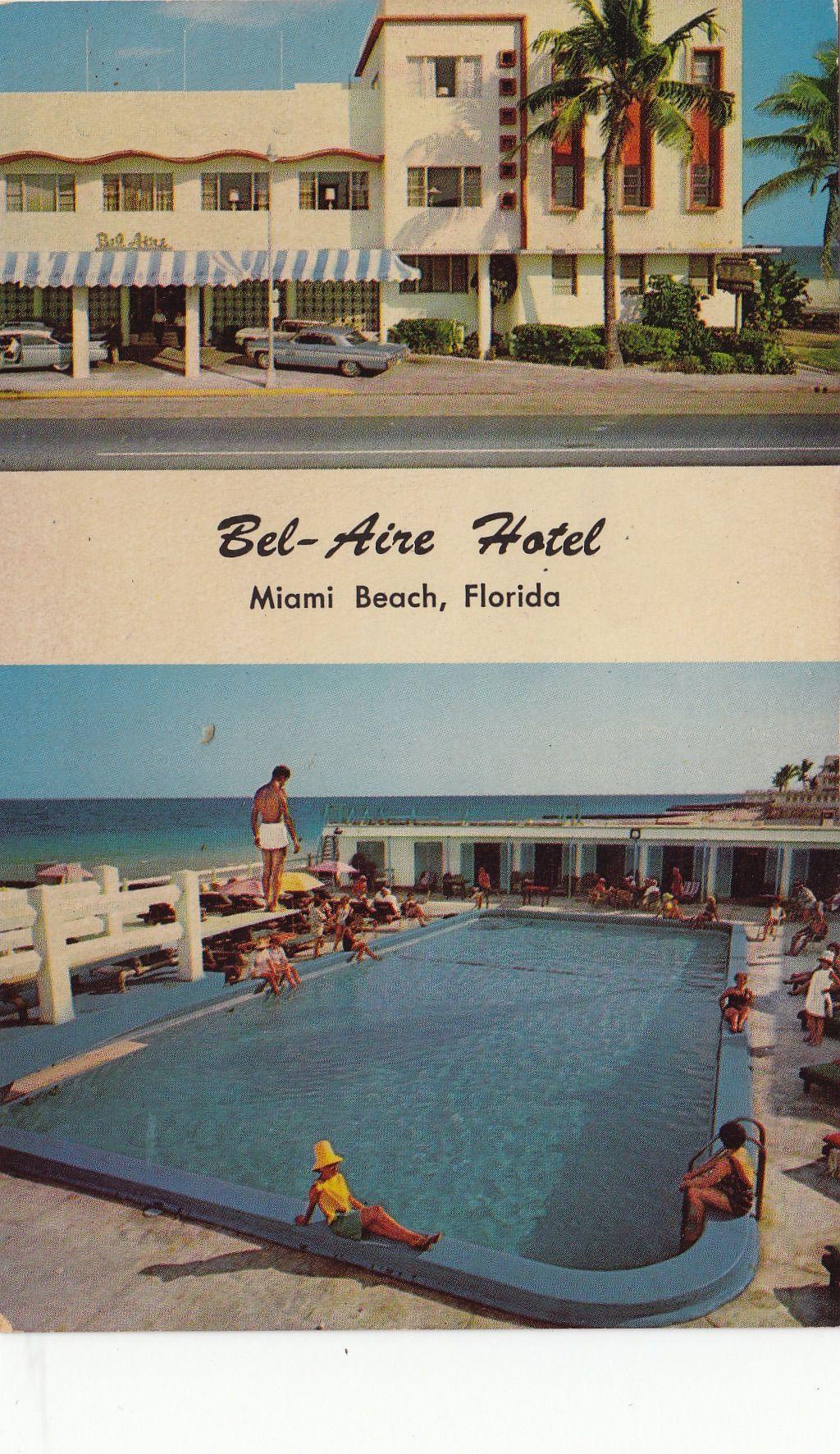 Bel Aire Hotel Miami Beach Fl Miami Hotels South Beach Motel