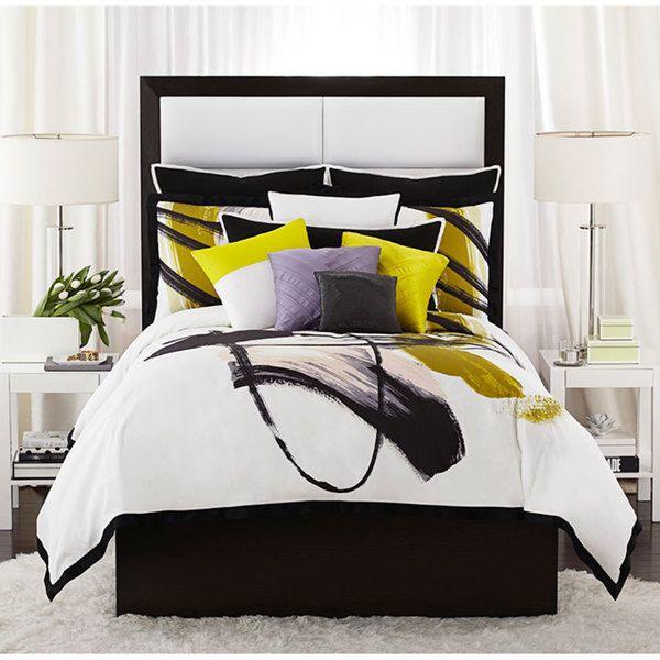 vince camuto basel graphic comforter set bedroom upgrade