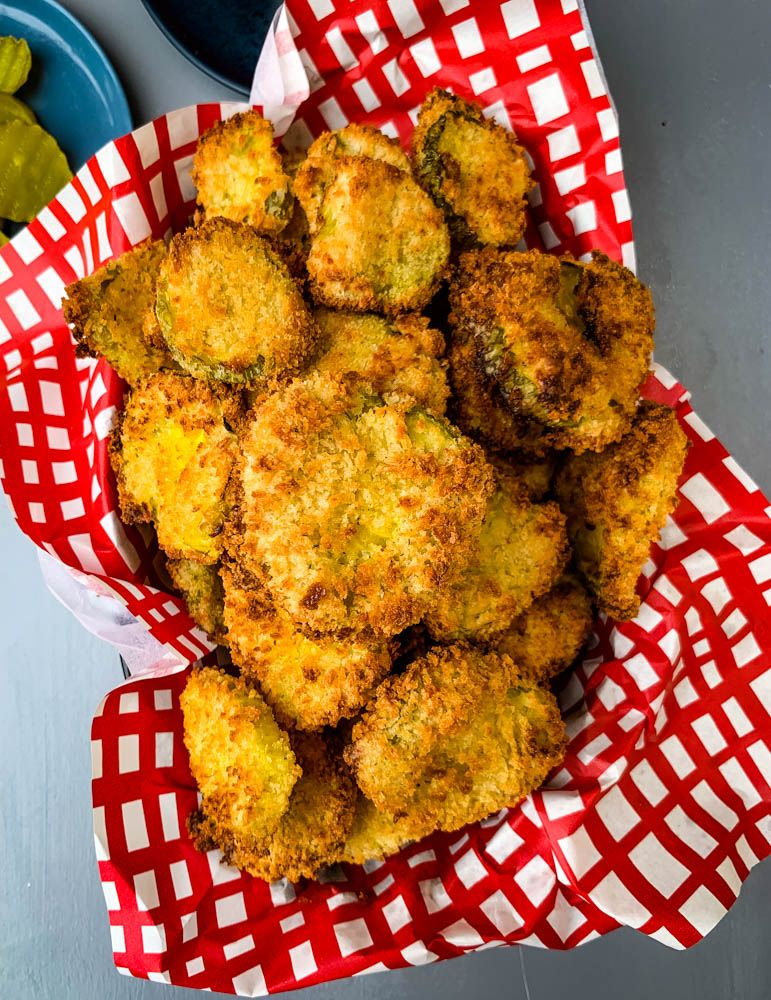 Easy, Air Fryer Crunchy Fried Pickles is the best, quick