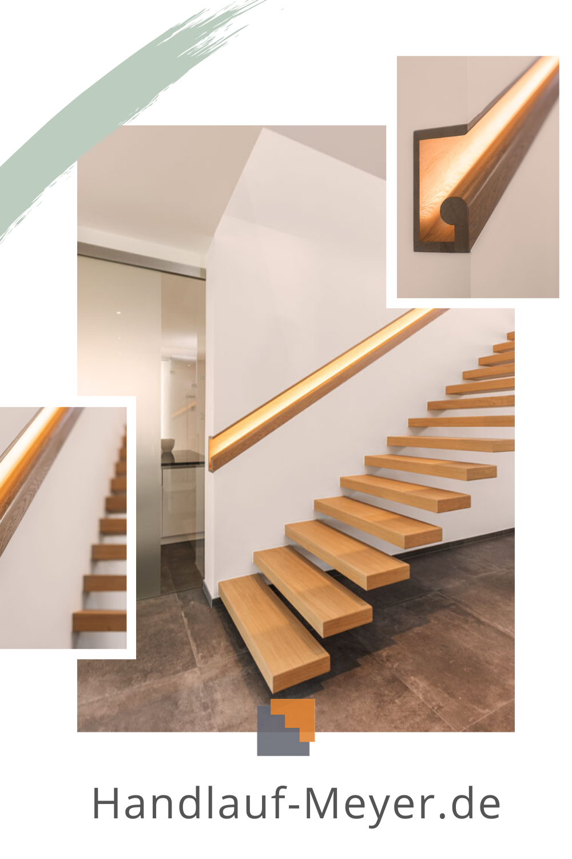 Handlauf Beleuchtet I Einfach Schnell Online Bestellen In 2020 Handlauf Handlauf Holz Handlauf Treppe