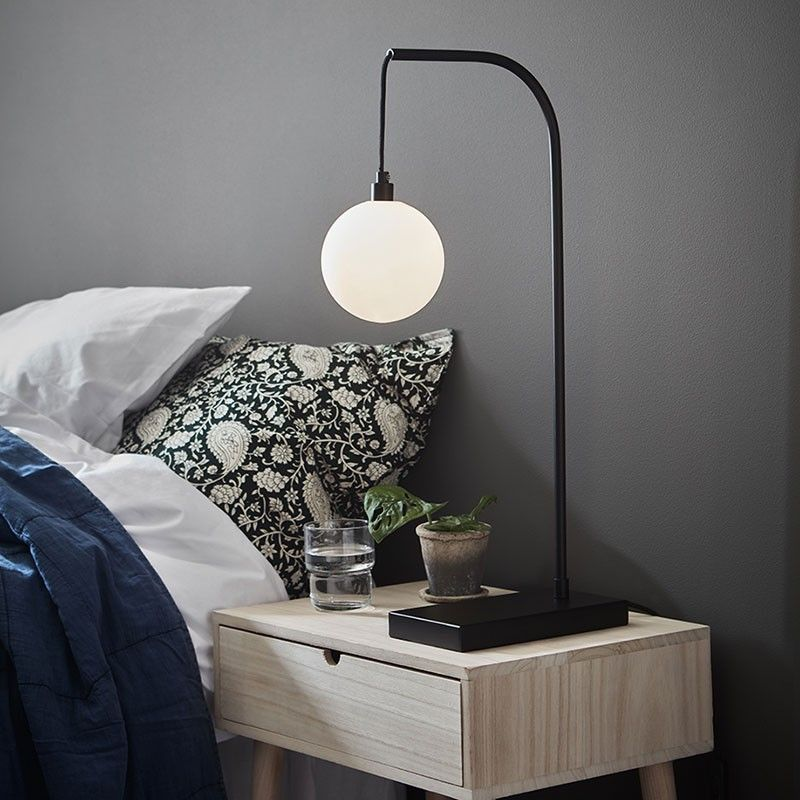Buddy Table Lamp Black Black table lamps, Floating
