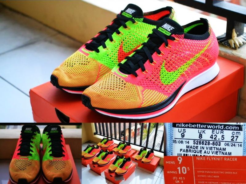 promo code 7a0d1 03278 ... new zealand harga jual nike flyknit racer hyper punch pricepedia a040e  4e561