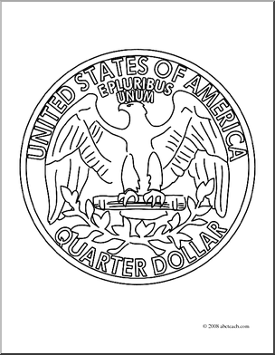 Tail Of Quarter Coloring Page Coloring Pages | Coloring ...