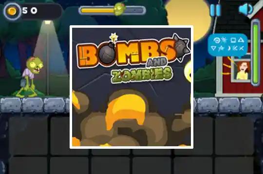 Bombs And Zombies Zombies Jogos Online Jogos Para Meninos