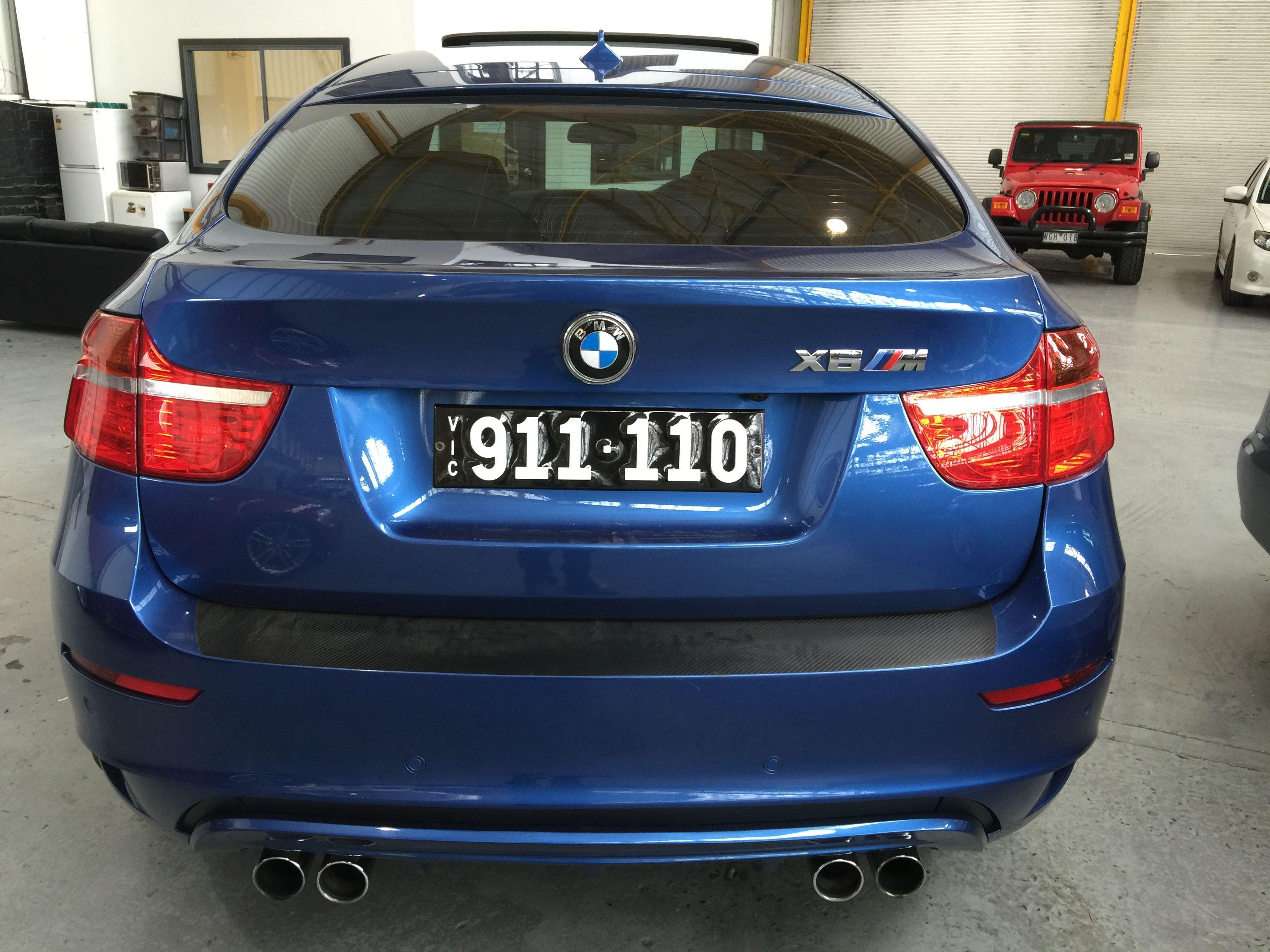 My New Toy Blue Bmw X6m X6 M Carbon Whataf Machine Black Wheels