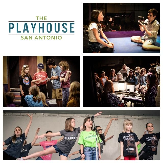 Recommended Summer Camps for Kids in San Antonio: The Playhouse camps for theatre and film