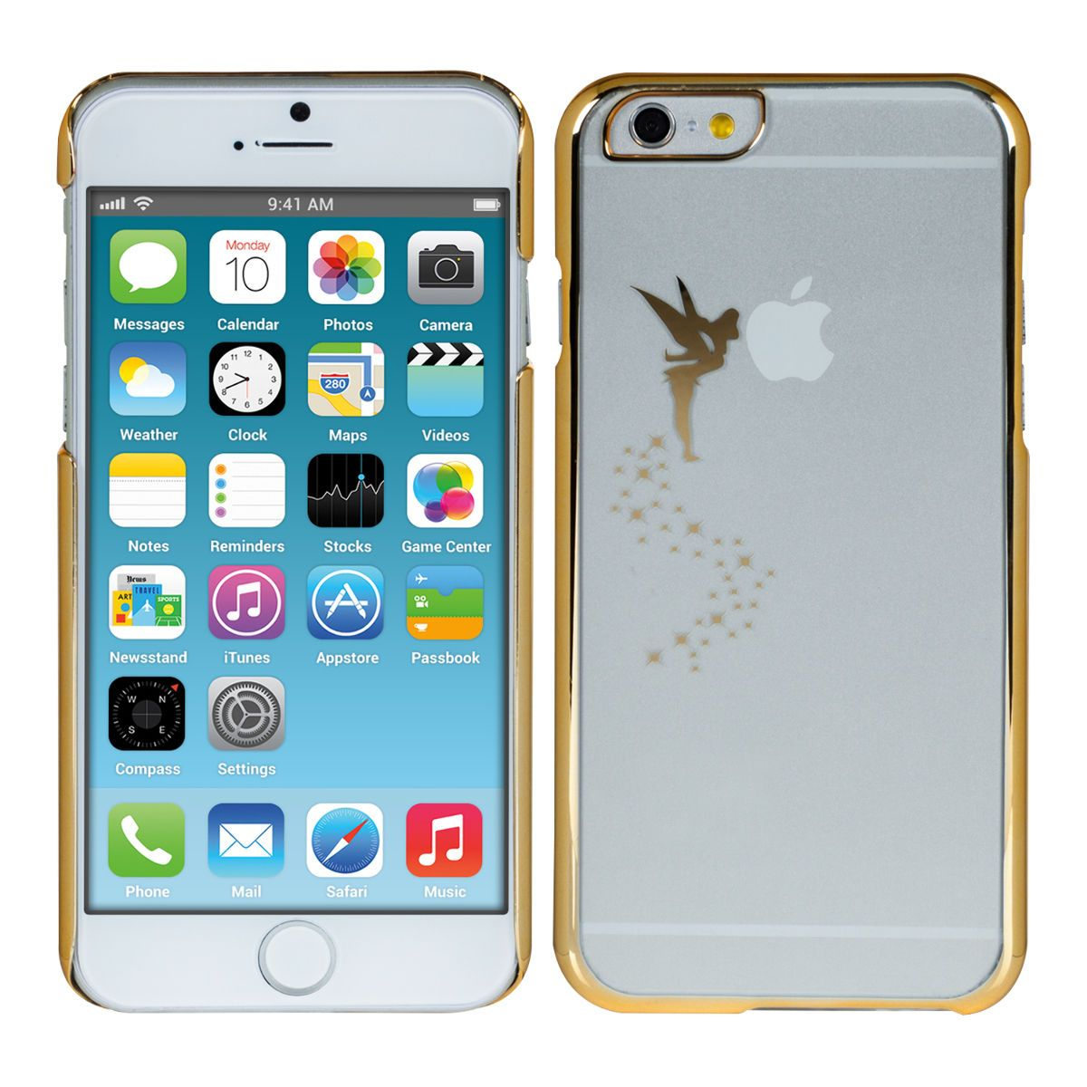 Kwmobile Schutz Hulle Fur Apple Iphone 6 4 7 Fee Gold Transparent Case Cover Ebay Iphone