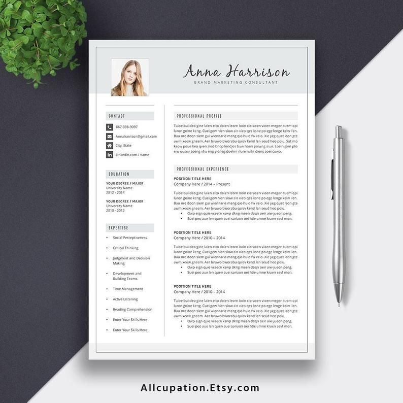 2020 editable resume template for new grad jobs 15 page