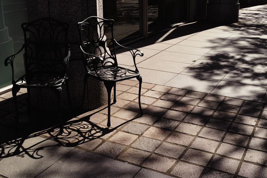 Chairs in the Shade