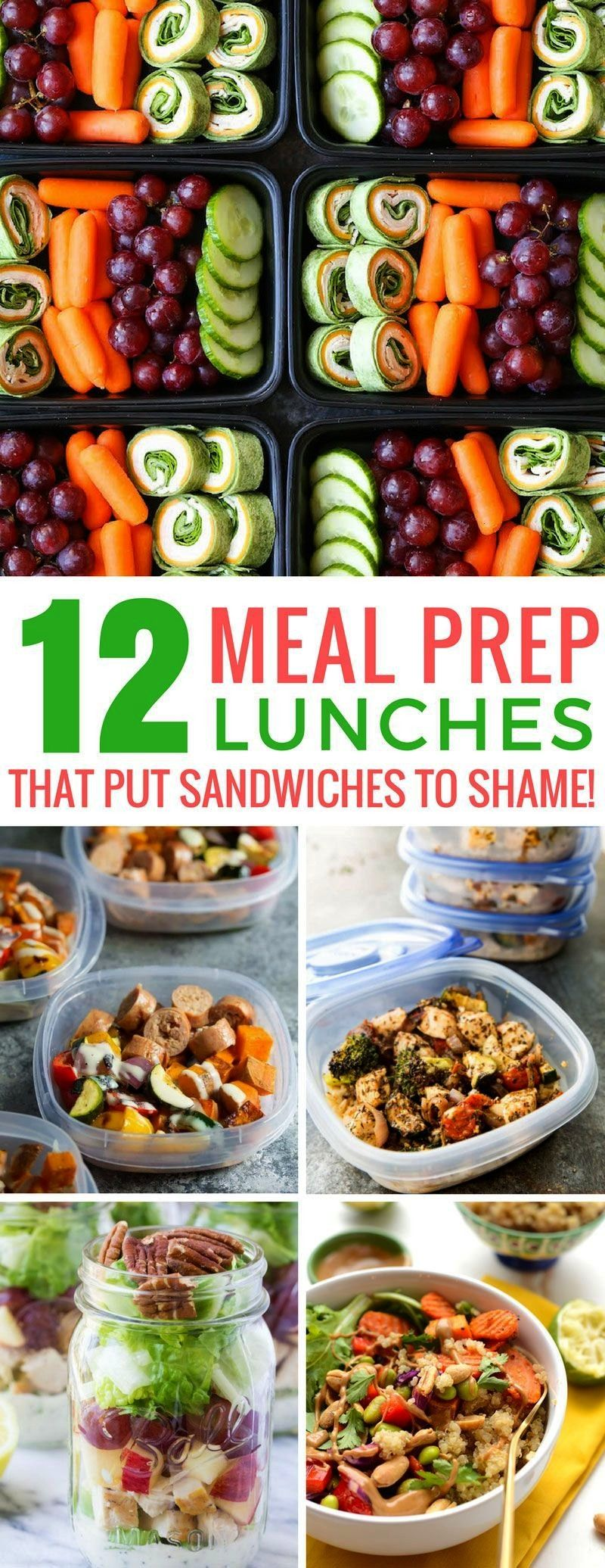 these meal prep lunches - well not get bored eating these recipes! Thanks for sharing!Loving these
