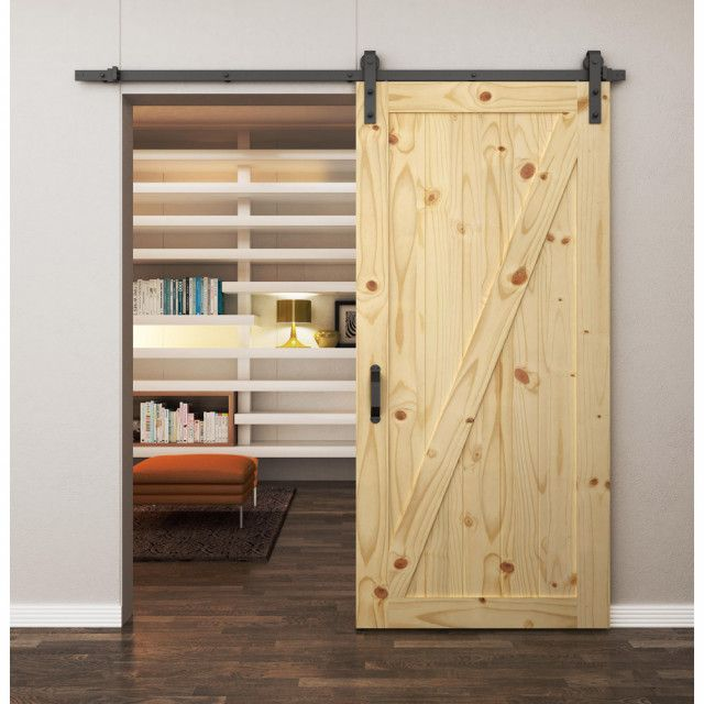 Z Brace Rustic Knotty Pine Door International Door Company Rustic Interior Barn Doors Interior Barn Doors Knotty Pine Doors