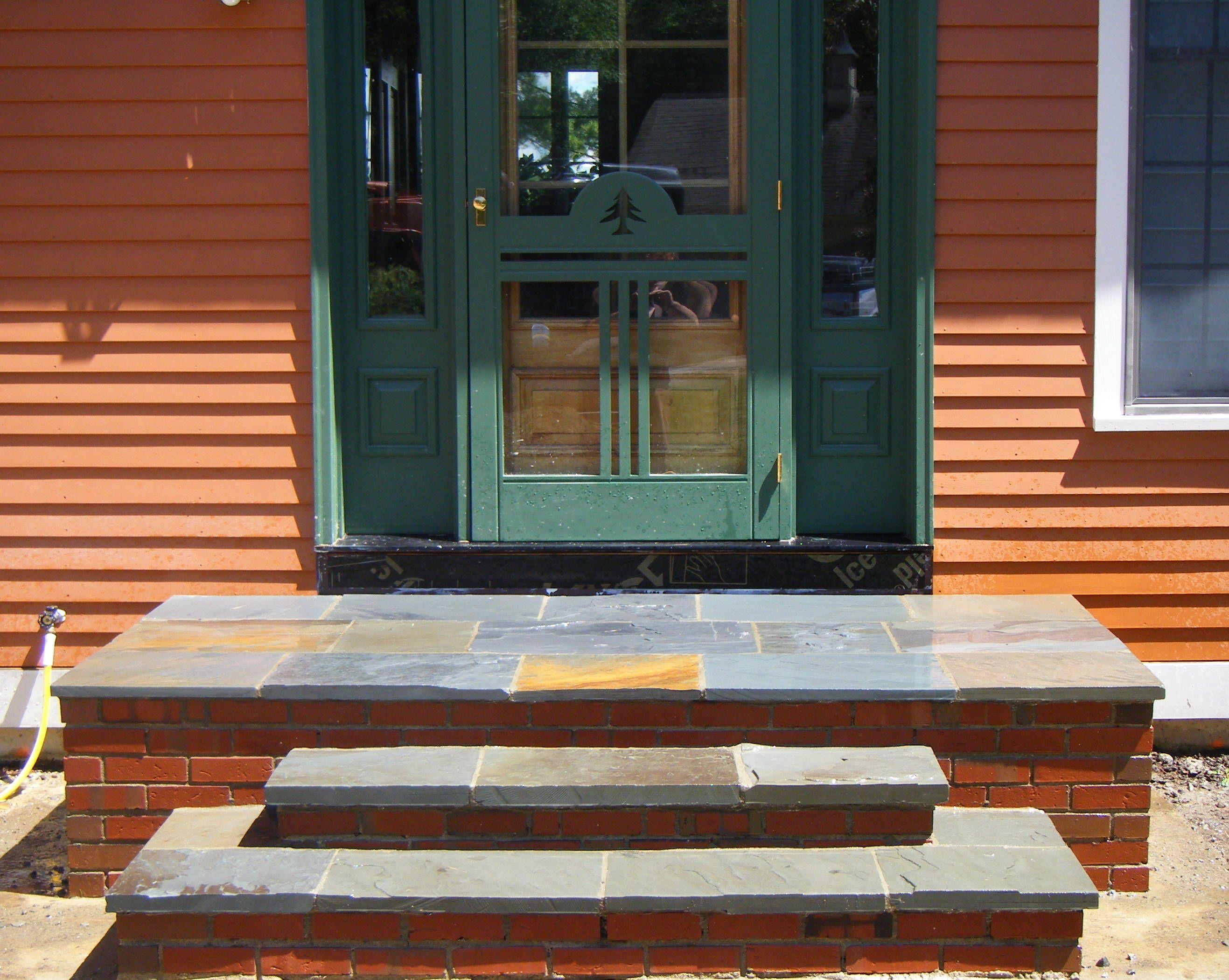 Best Garden Step Basics Stone Vs Poured Concrete Brick 400 x 300