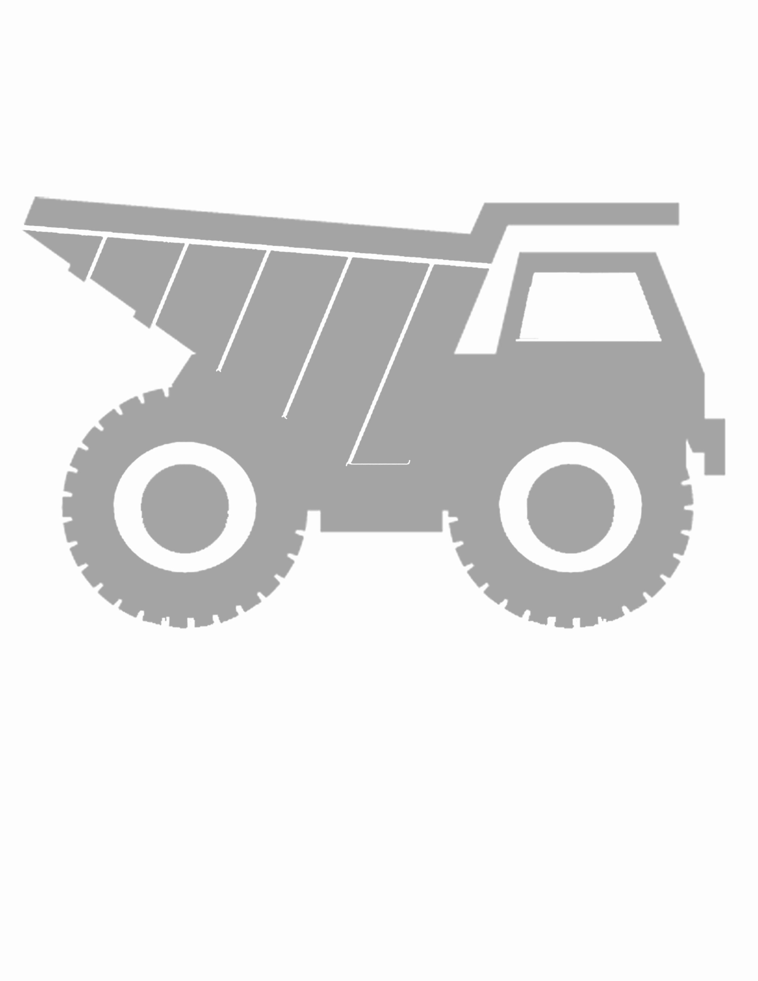 Tonka Truck Coloring Pages New Tonka Truck Silhouette