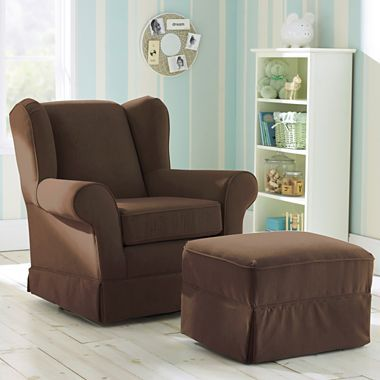 Best Chairs Inc Chloe Glider Or Ottoman Jcpenney Nursery Chair Cool Chairs Chair