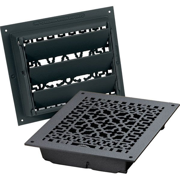 Cast Iron Floor Registers And Air Return Grilles