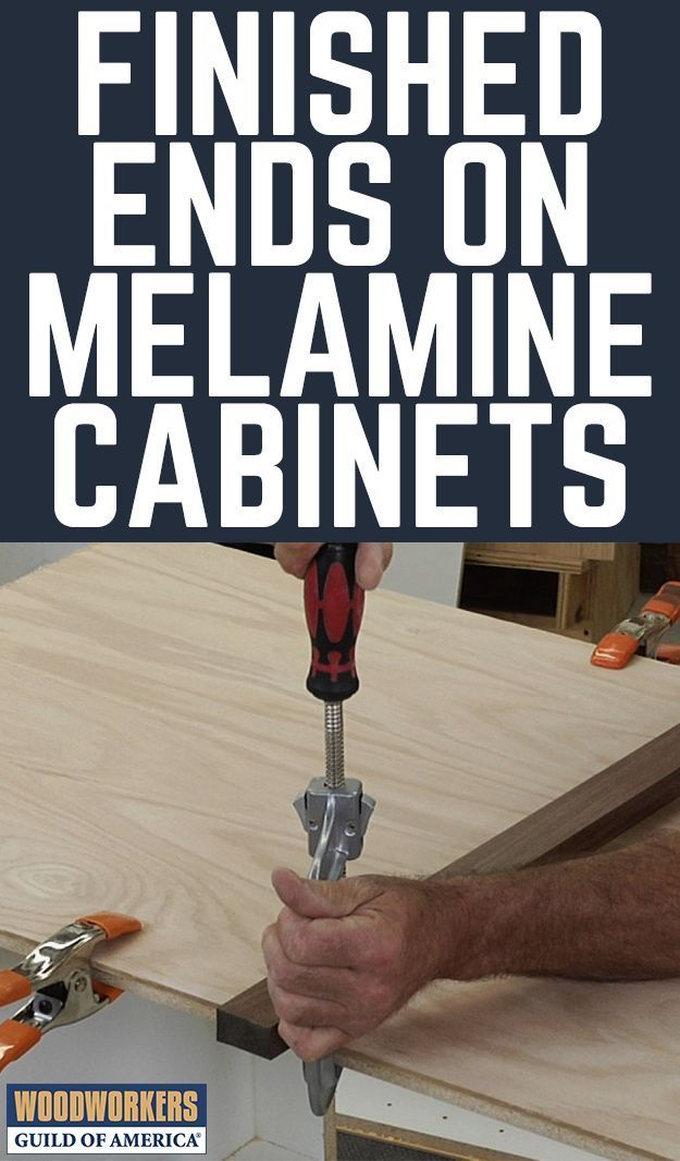 Best How To Finish The Ends Of A Melamine Cabinet Melamine 400 x 300