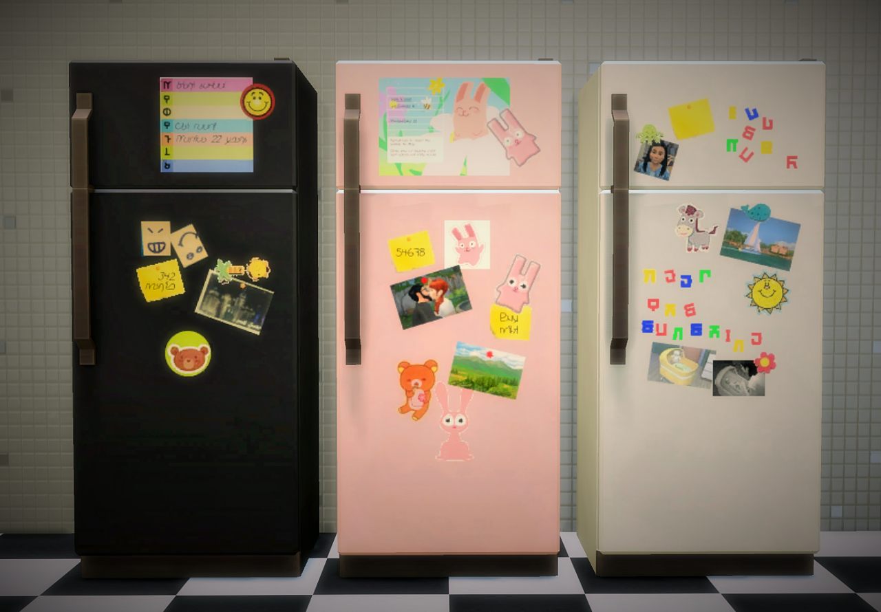 Its all about clutter the sticker fridge collection download fridge