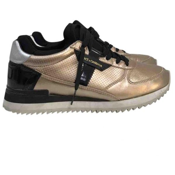Pre-owned - LEATHER TRAINERS Dolce & Gabbana mccONTL