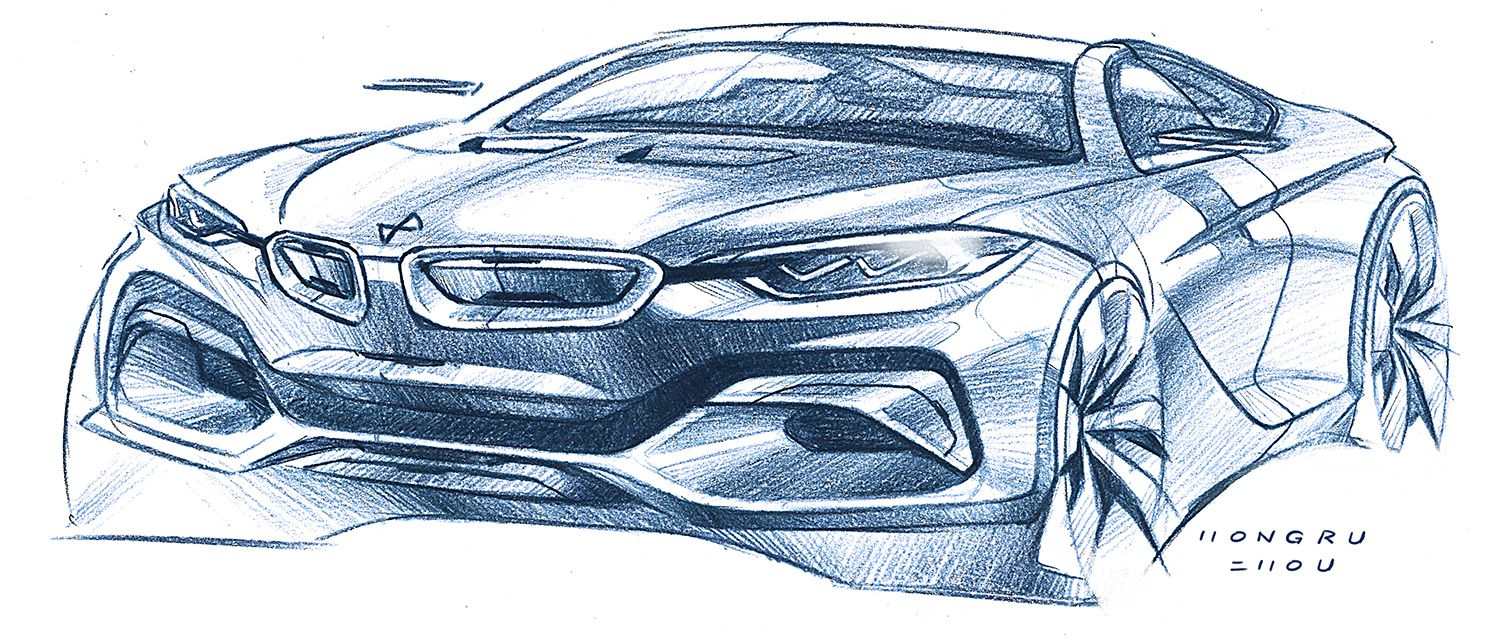 car sketches | Skizze | Pinterest | Car sketch, Sketches and Cars