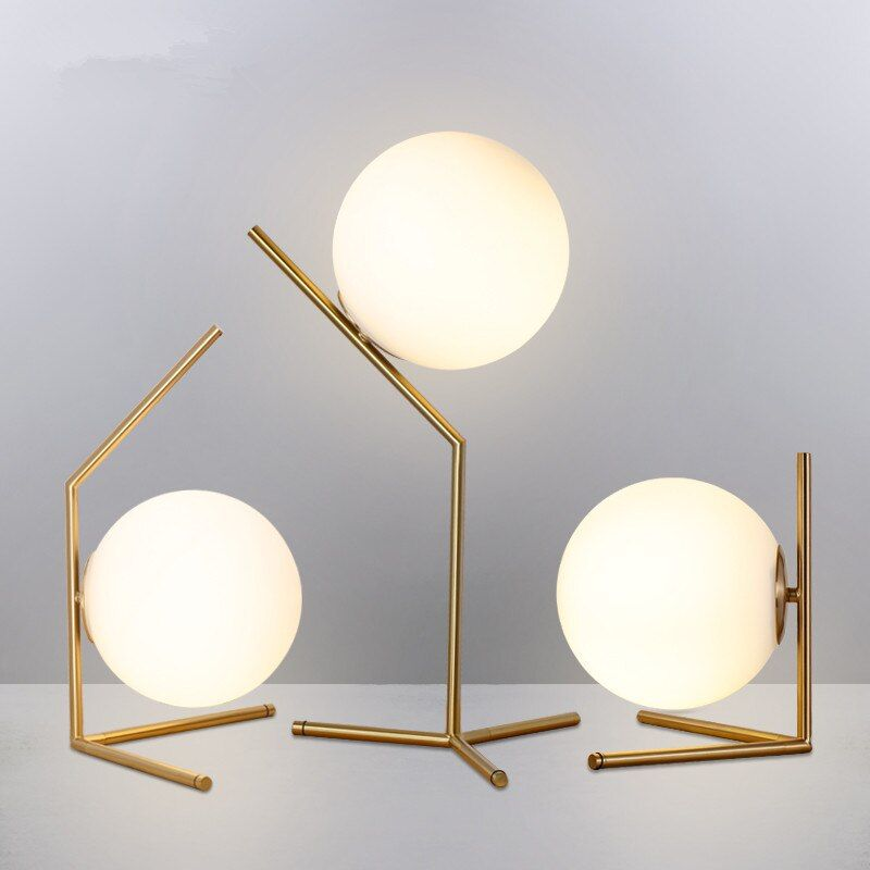 Cheap Led Table Lamps Buy Directly From China Suppliers Modern Glass Ball Table Lamps Nordic Led Desk Lamps Shade Glass Ball Sta In 2020 Lamp Standing Lamp Ball Lamps