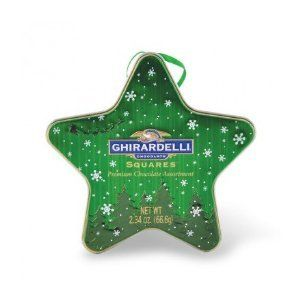 Ghirardelli Chocolate Green Star Ornament