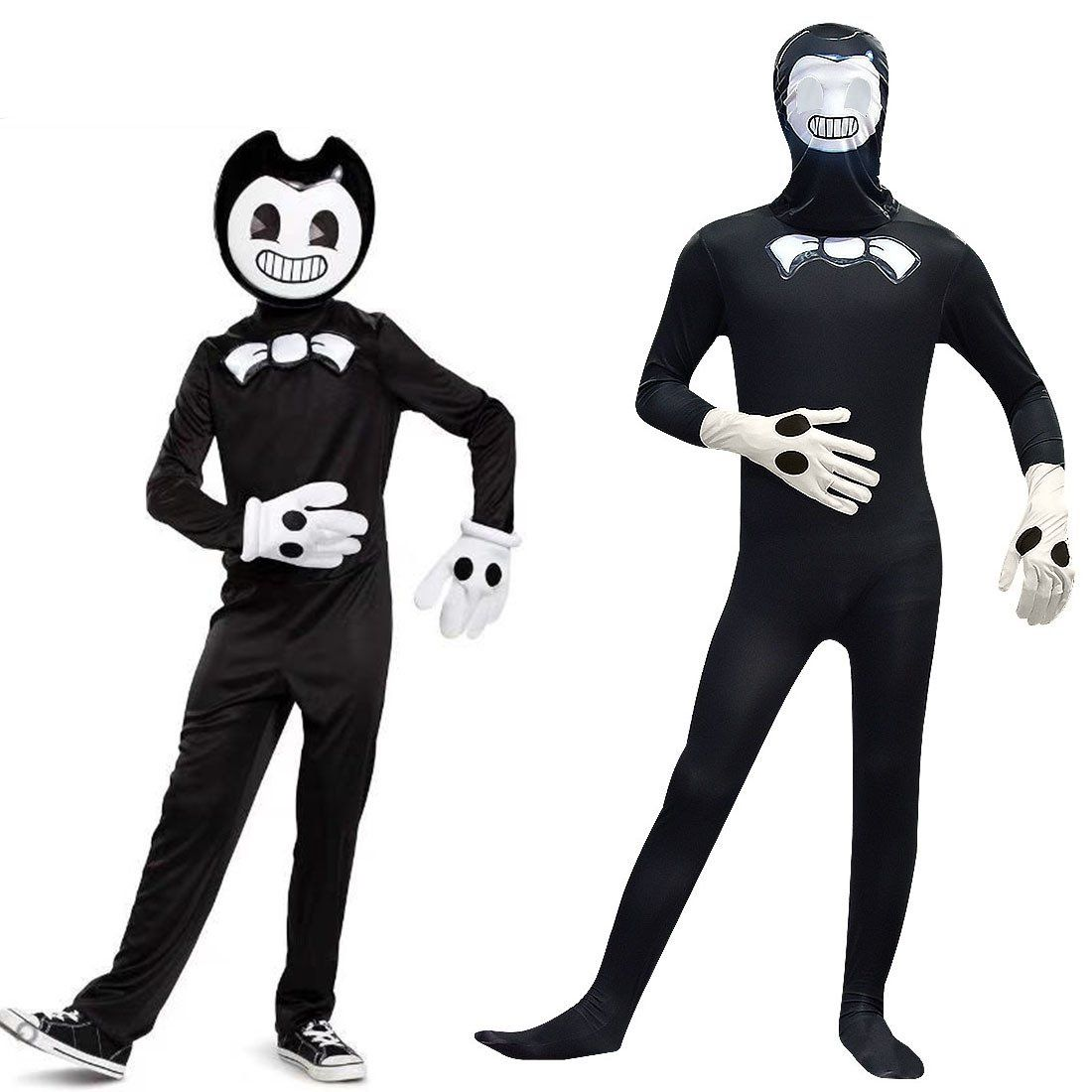 6-14 Years Old Bendy and The Ink Machine Cartoon Boy Fashion Casual Suit