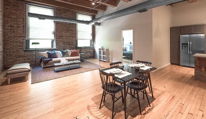 120 N Green St Chicago Il 60607 Loft Apartment Apartment