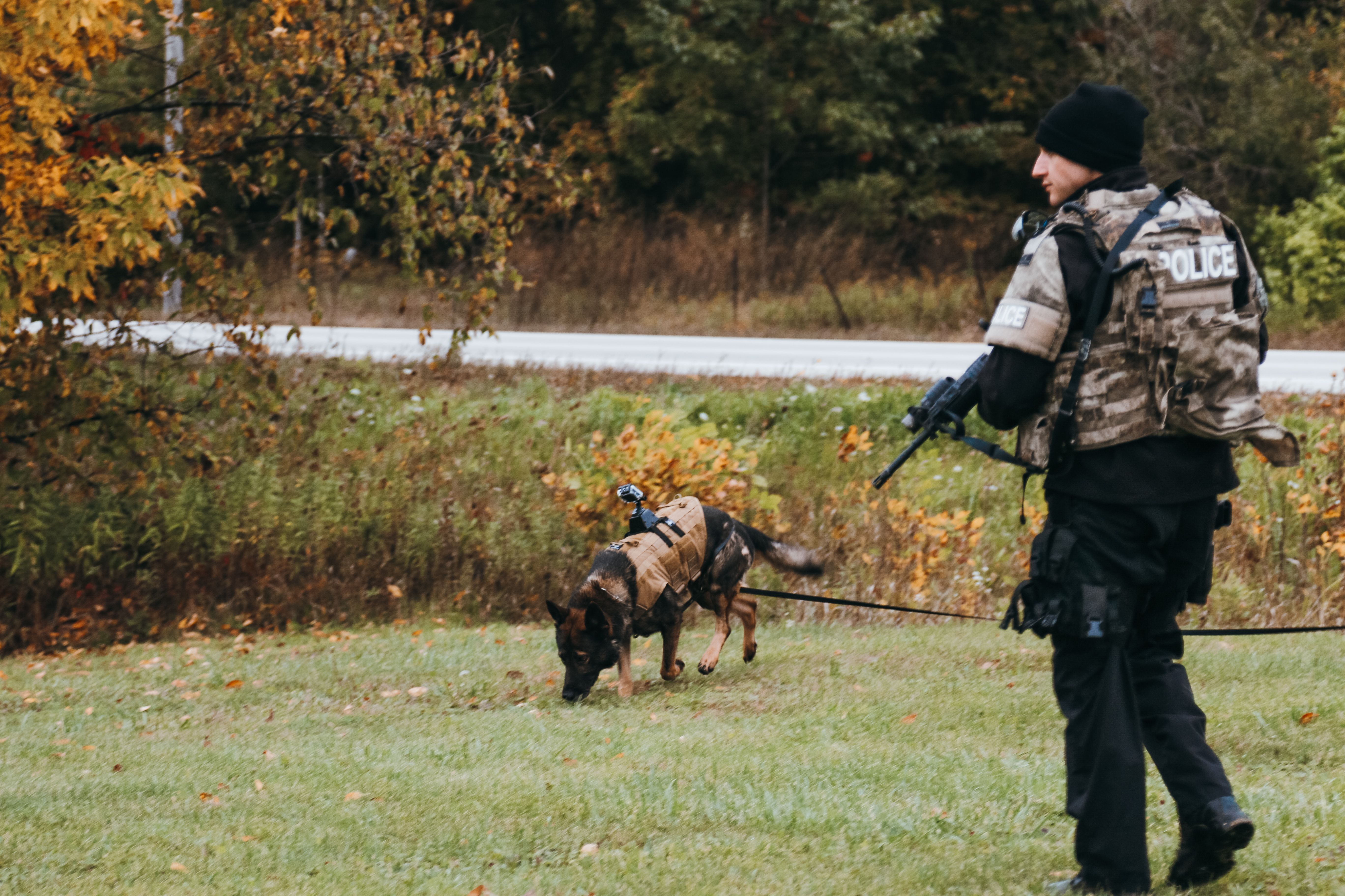Training Police K9 Tracking Dogs Seminar With Kevin Sheldahl I