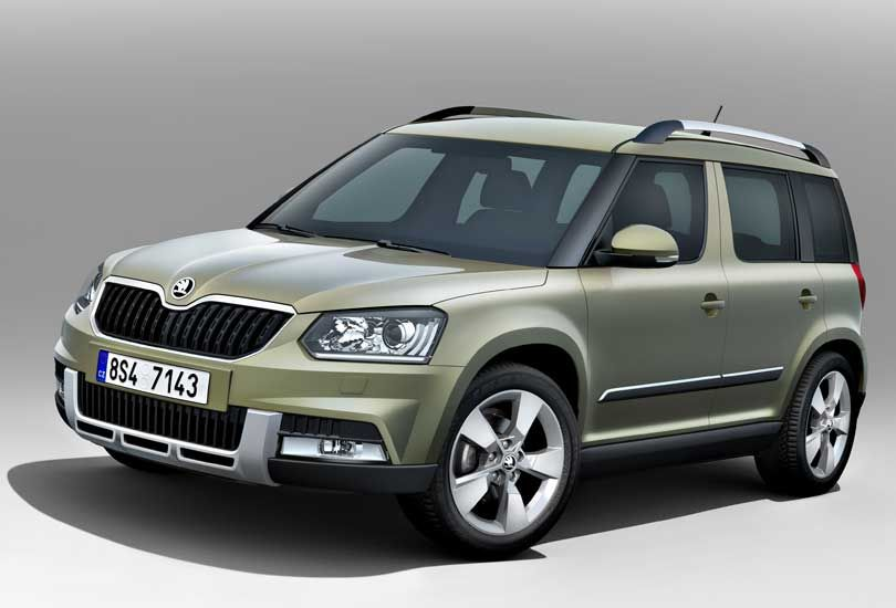 World Premiere All New Skoda Yeti Coming Soon Automobile Bmw
