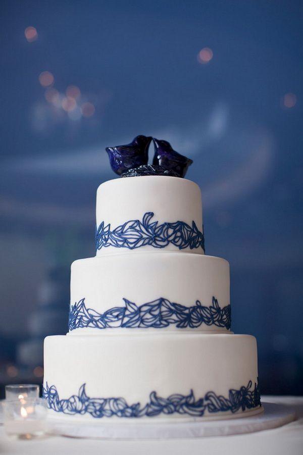 Blue Wedding Cake Ideas Wedding Cakes Blue Wedding Cake Pictures White Wedding Cakes