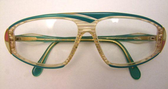 7f12dc21e040 RARE Vintage CAZAL Eyeglasses AMAZING style Vintage Designer Germany ...