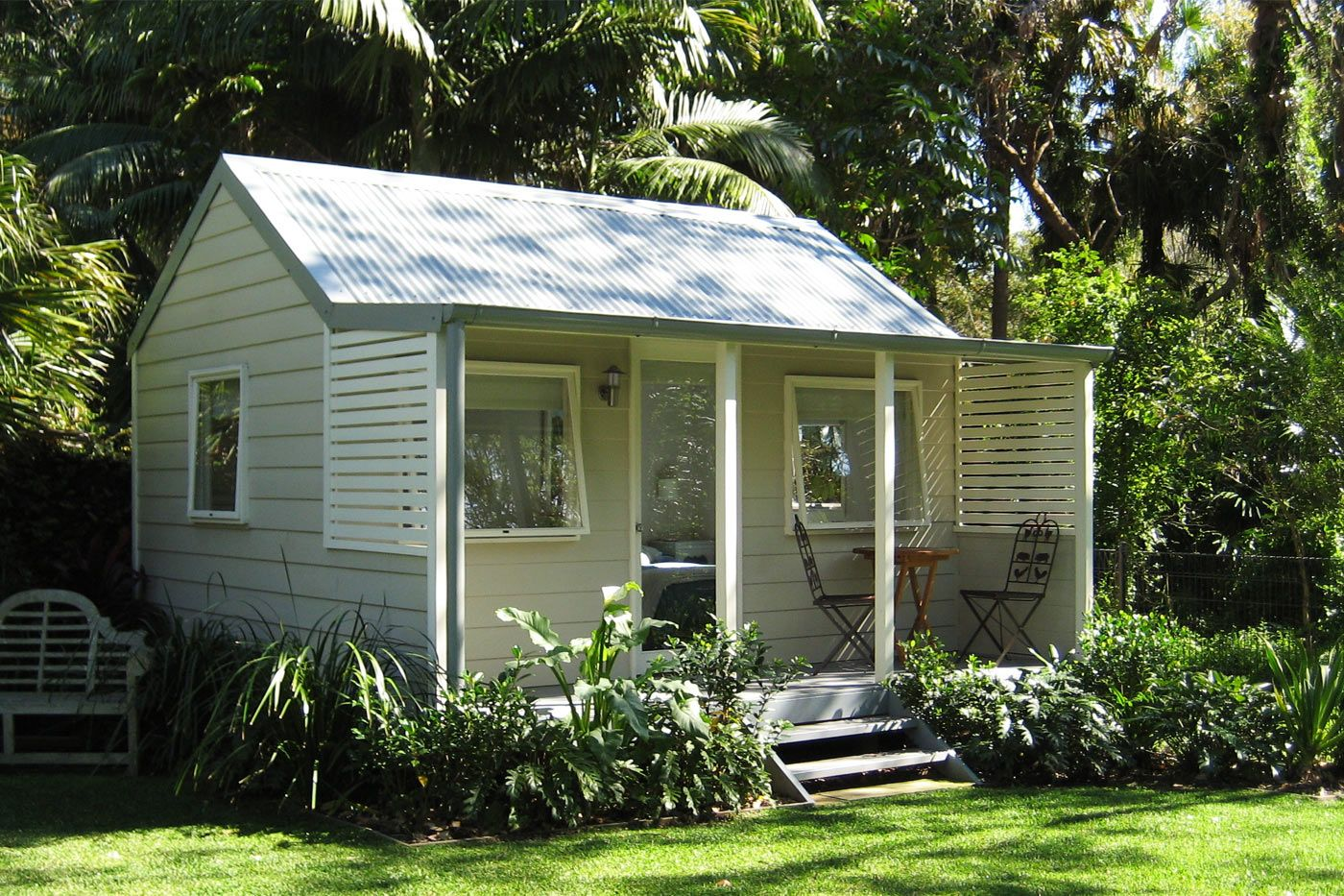 backyard cabins | backyard cabins - cedar, weatherboard, country