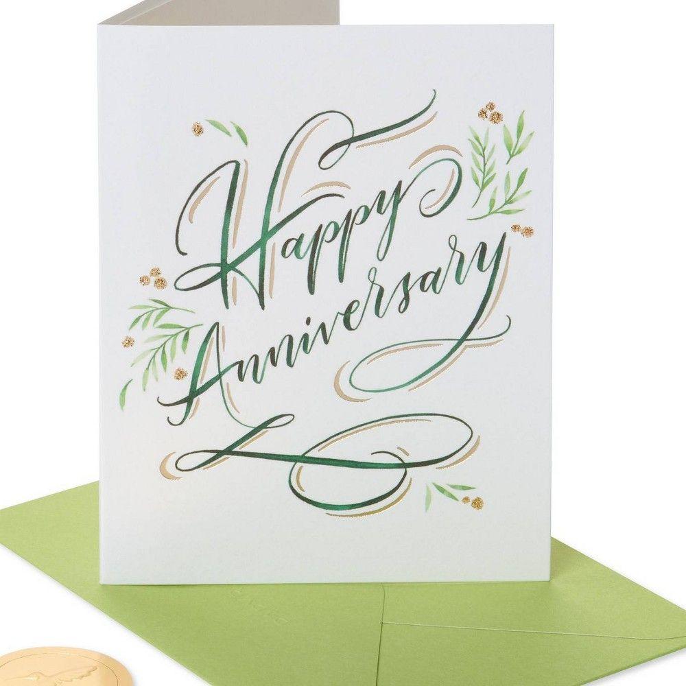 Elegant Happy Anniversary Card Papyrus Anniversary Cards For Couple Happy Anniversary Lettering Anniversary Cards