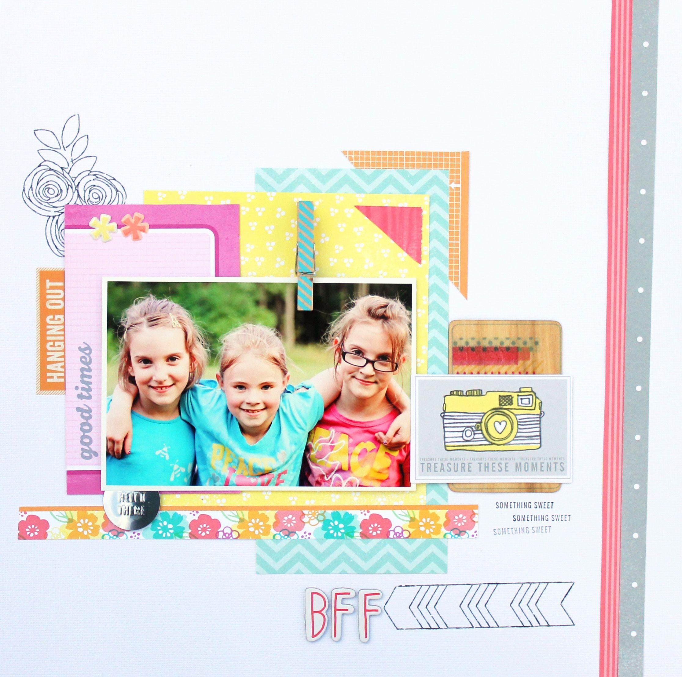 Family scrapbook ideas on pinterest - Bff Scrapbook Com