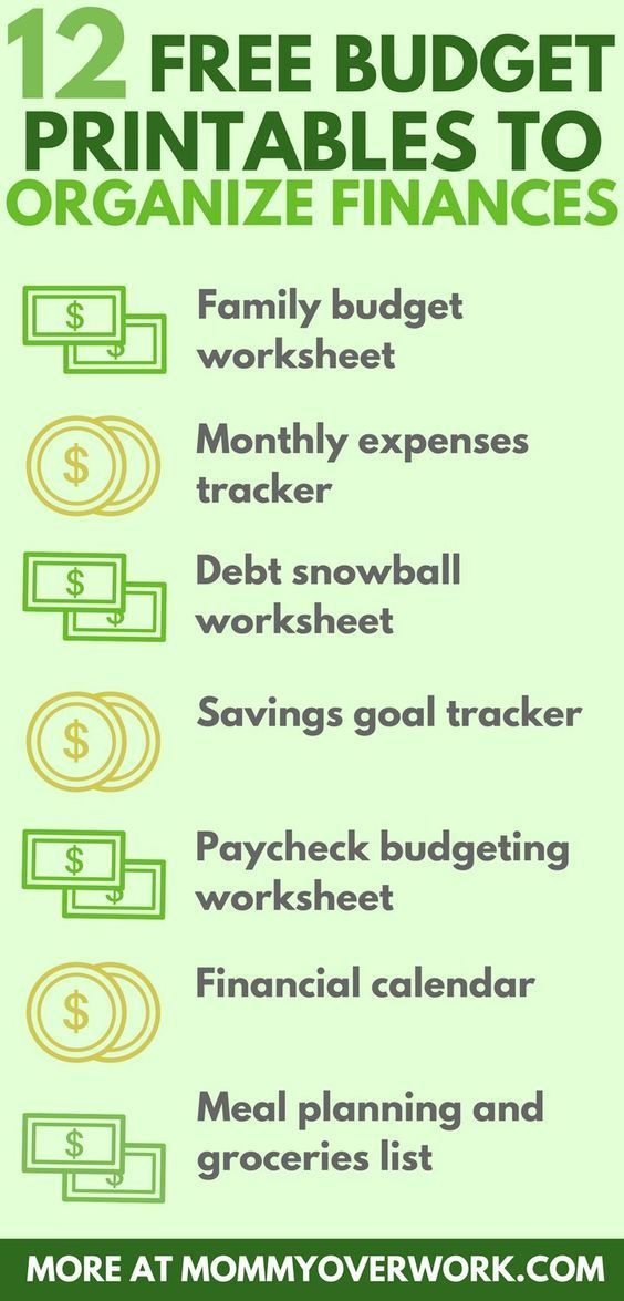 12 Free Printable Budget Worksheets to GET CONTROL OF YOUR MONEY is part of Financial Organization Printables - Get your money in check & organized with these BEST FREE PRINTABLE BUDGET WORKSHEETS  Pretty designs & detailed layouts to keep you on track with finances