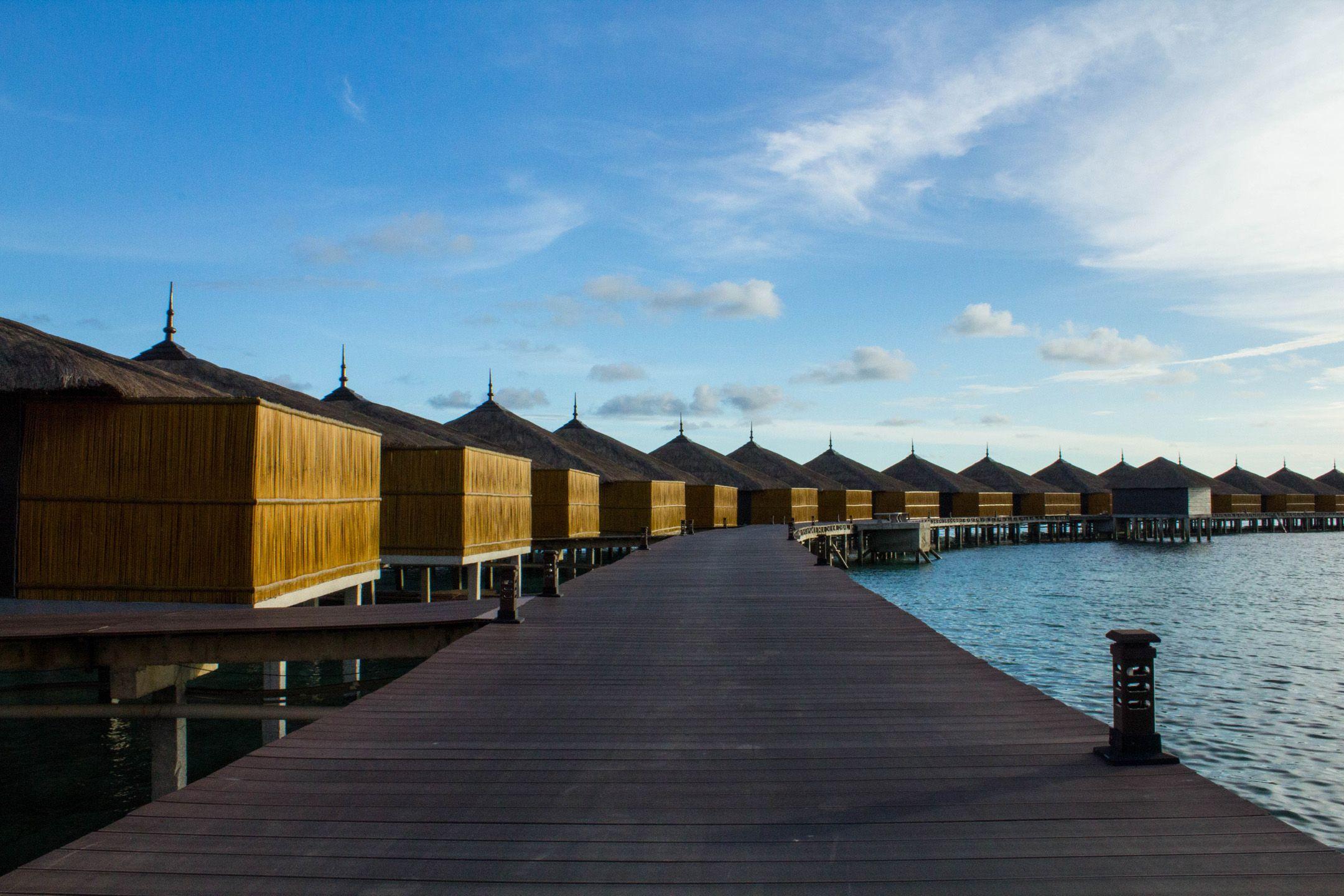 Water Villas | Huma Island Resort & Spa