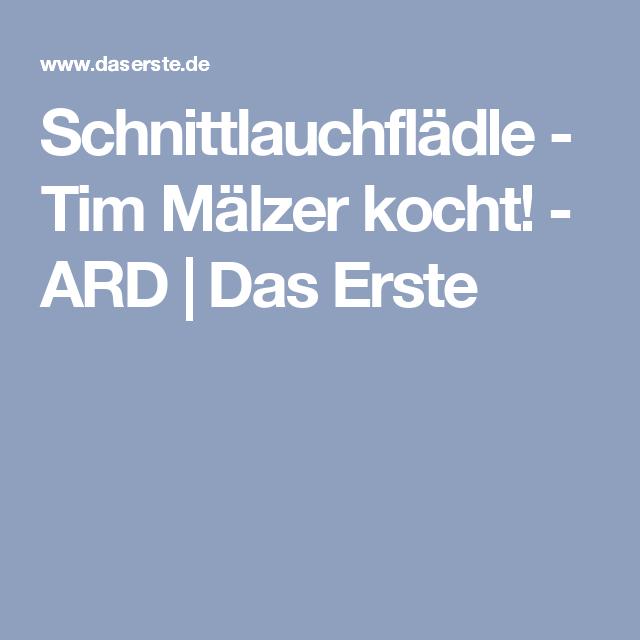 Schnittlauchfladle Rezept Mandelkuchen Tim Malzer Kocht Und Tim Maelzer