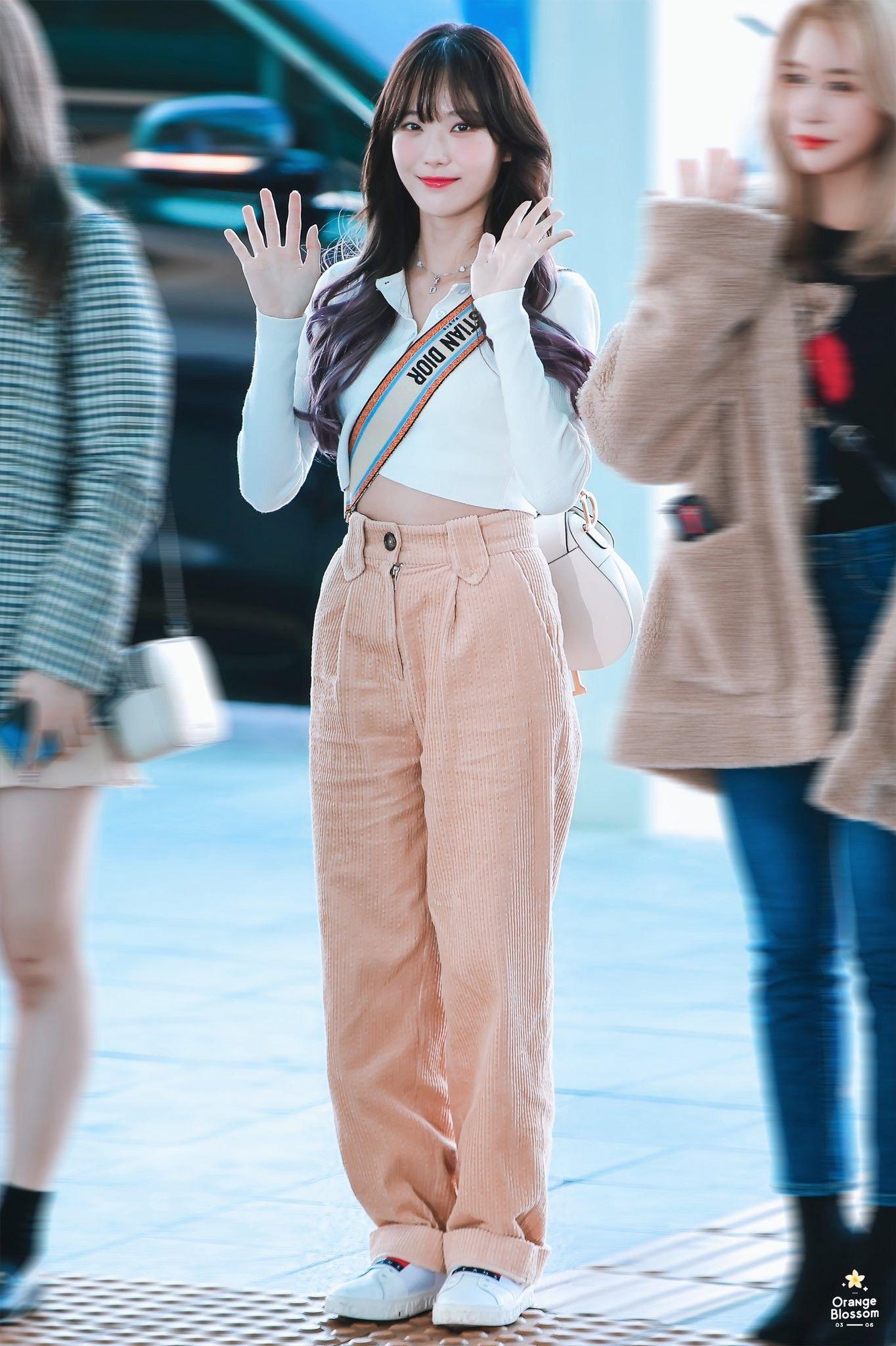 Wjsn Luda 191109 Incheon Airport To Singapore Airport Fashion Kpop Kpop Fashion Kpop Outfits