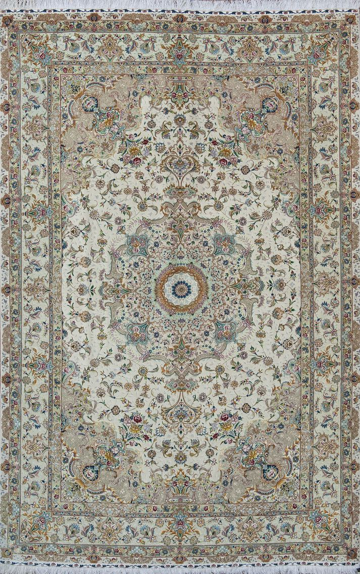 Tabriz 80 R N 345364 Cm 305 X 205 Tappeti Orientali E