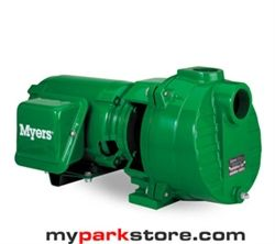 Myers Quick Prime 1.5 HP single phase self priming sprinkler and irrigation water pumps, deliver strong dependable performance for the most demanding jobs. The Quick Prime Self-Priming Centrifugal Pumps are designed for demanding jobs where a lot of water is required over a long period of time. They are used for lawn and garden sprinkling, irrigation, car washing or other big cleaning and maintenance jobs.  www.MyParkStore.com