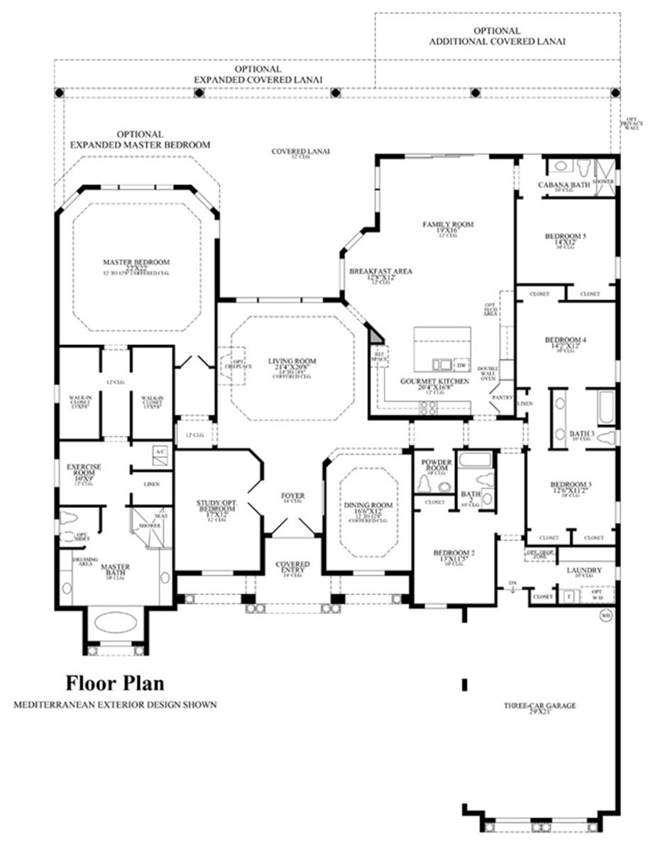 Toll Brothers - Malaqa Floor Plan | Home Plans | Pinterest | House ...