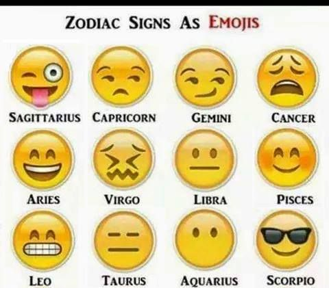 Zodiac Astrological Signs As Emojis Emoticons Zodiac Signs Funny Zodiac Signs Gemini Zodiac Signs