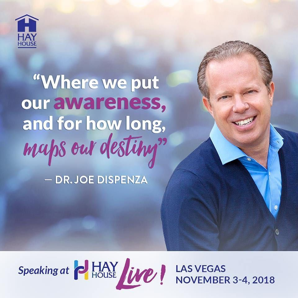 """Hay House on Instagram: """"Join Dr Joe Dispenza - OFFICIAL"""