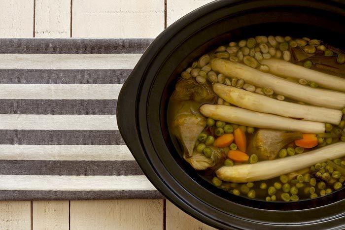 C mo hacer menestra de verduras en crock pot receta - Como preparar menestra de verduras ...
