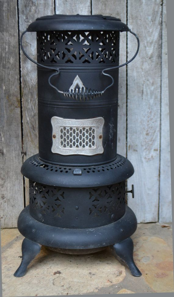 Perfection Heater Smokeless Oil No 530 1913 Antique Stove Vintage Cabin Etsymnt Collectibles