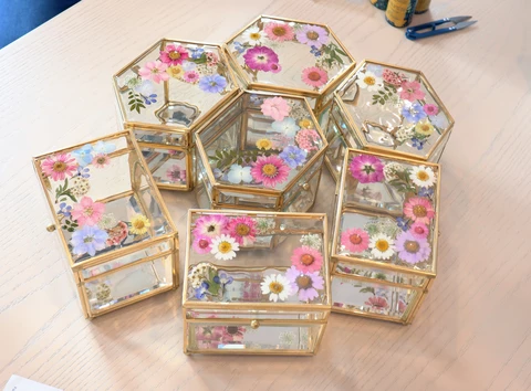 Workshop - Dried Flower Jewelry Box