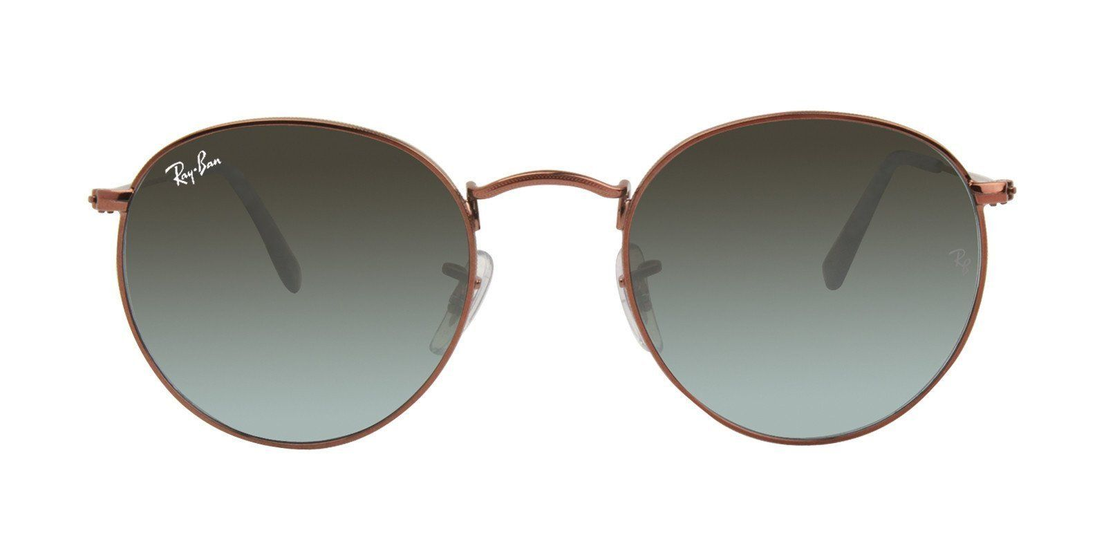 3d12b31962 Ray Ban - Round Metal Brown - Gray sunglasses– Designer Eyes