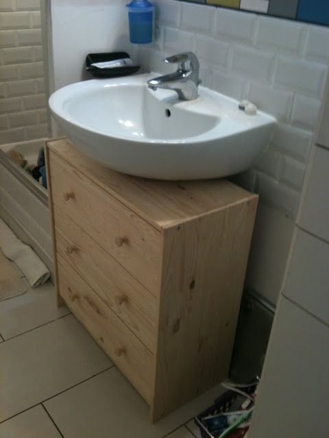 the latest 1911e f895d IKEA Hackers: Turn a Chest of Drawers into a Vanity Unit ...
