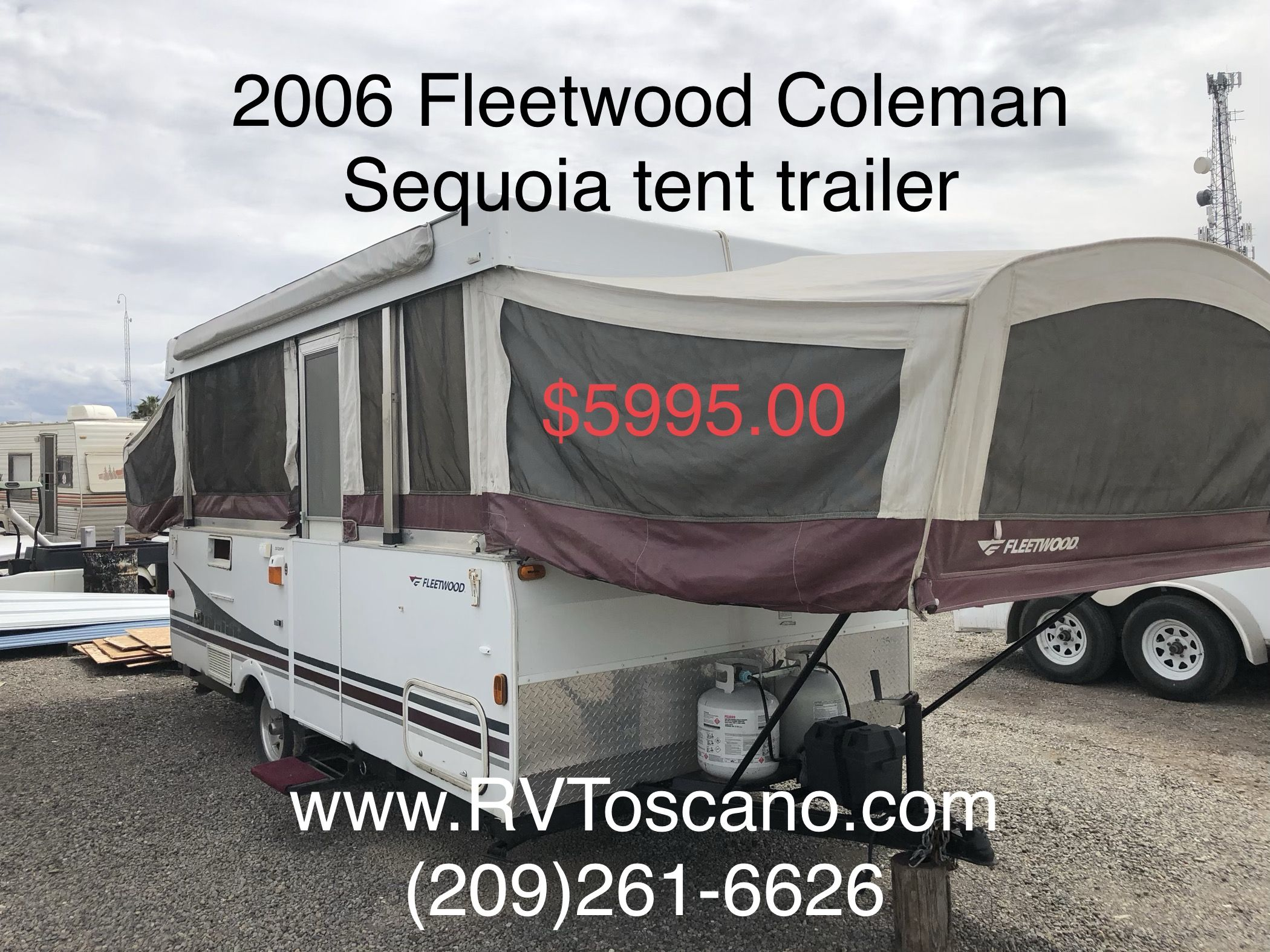 sold /deposit call me Great for the first time camper who's